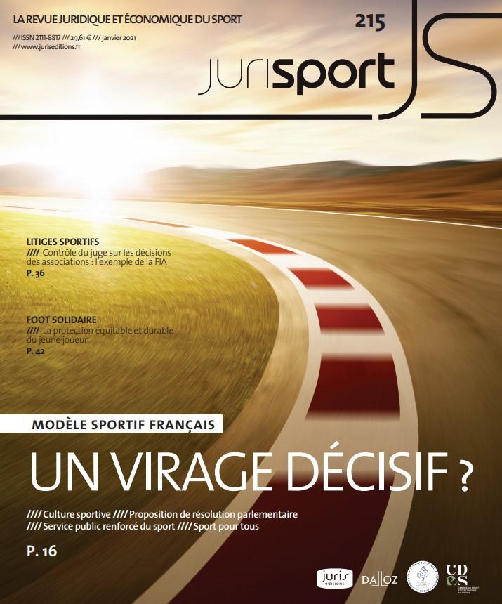 Couverture jurisport janvier 215