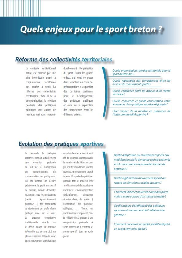 Plaquette présentation étude sport breton 1