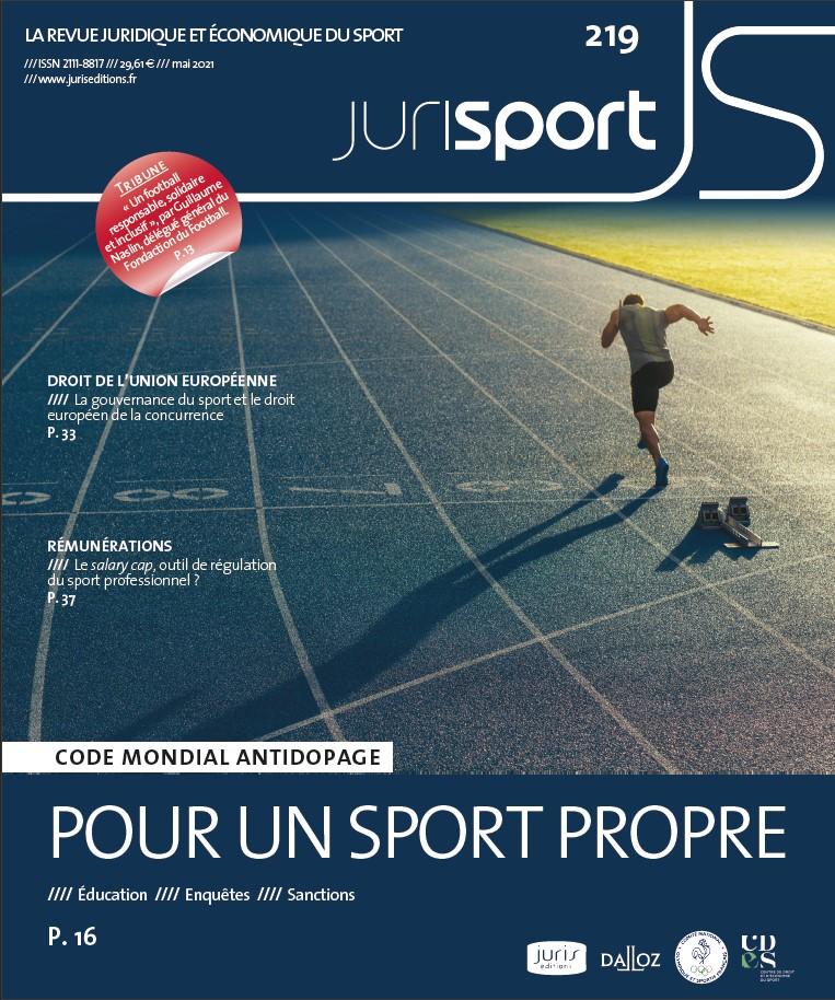 couverture Jurisport mai 2021