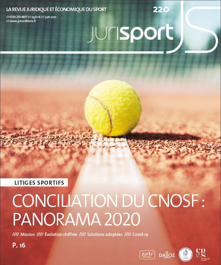 couverture juin jurisport 2021